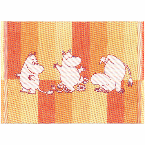 Moomin Stripe 07 Dishcloth