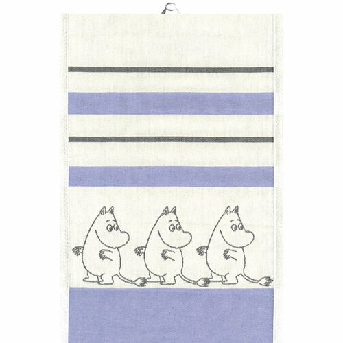 Ekelund Weavers Moomin Tea Towel, 14 x 20 inches