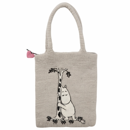 Moomin Tree Hug Felted Wool Bag