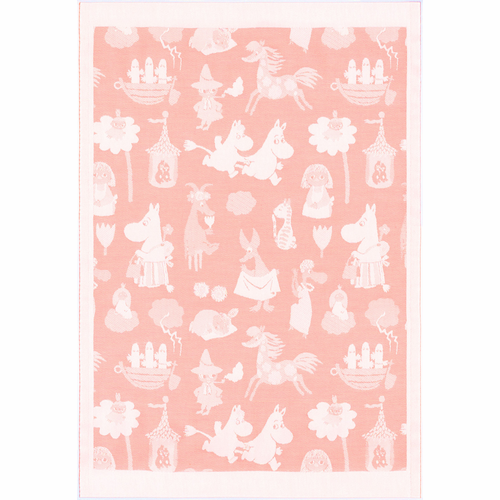 Moominvalley 15 Baby Blanket, 28 x 42 inches