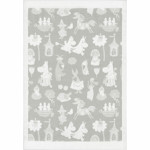 Ekelund Weavers Moominvalley 19 Baby Blanket, 28 x 41 inches