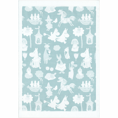 Moominvalley 24 Baby Blanket, 28 x 42 inches