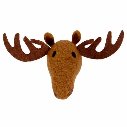 Moose Hand Felted Wool Animal Head