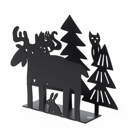 Bengt & Lotta Moose in the Forest Napkin Holder