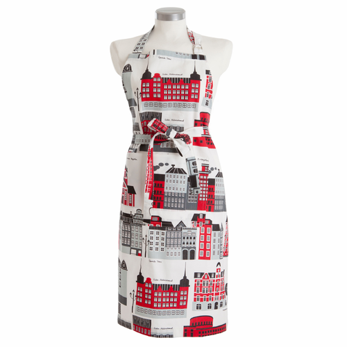 My Stockholm Kitchen Apron, Red