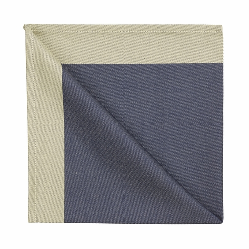 Georg Jensen Damask Napkin, Blue Gold - Set of 6