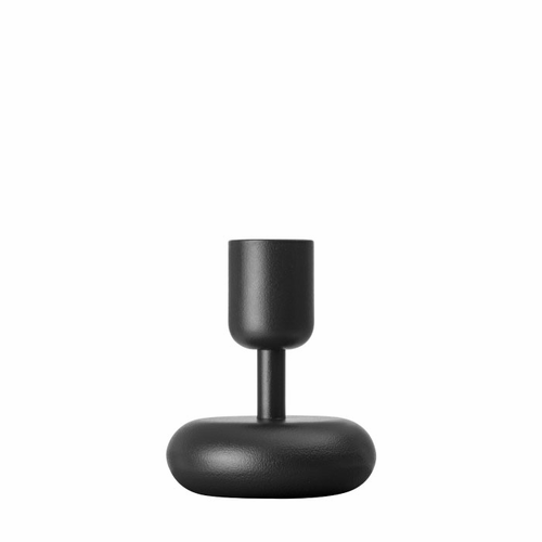 "Nappula Candle Holder (4.25""), Dark Grey"