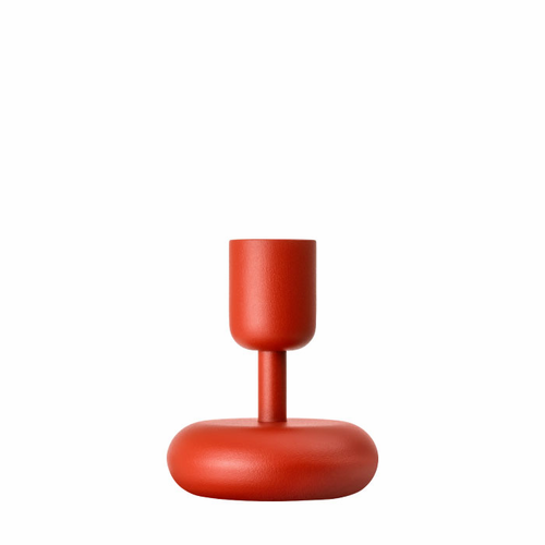 """Nappula Candle Holder (4.25""""), Kyoto Red"""