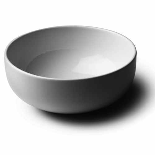 New Norm Bowl / White, 10 in, Set of 2