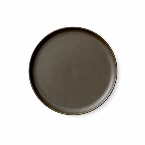 New Norm Lunch Plate, Dark Glazed - 9""