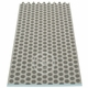 Noa Plastic Rug - Charcoal/Warm Grey, 2 1/4' x 11 1/2'