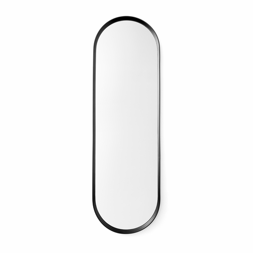 Menu Norm Oval Mirror, Black