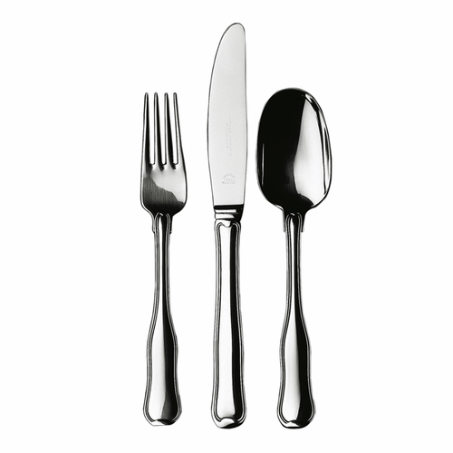 Old Danish 3-Piece Silver Cutlery Set