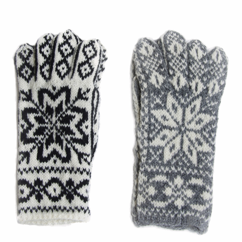 Original Selbu Norwegian Hand Knitted Men's Gloves - SOLD OUT