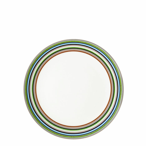 "Origo Salad plate 8"", Brown"