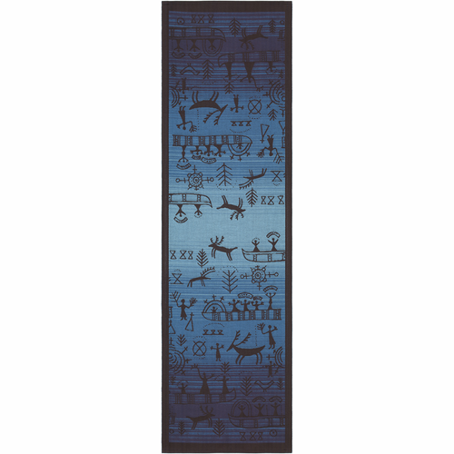 Osterled 91 Bla Table Runner, 14 x 47 inches