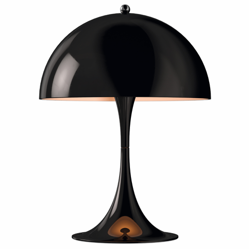 Panthella Mini Table Lamp, Black