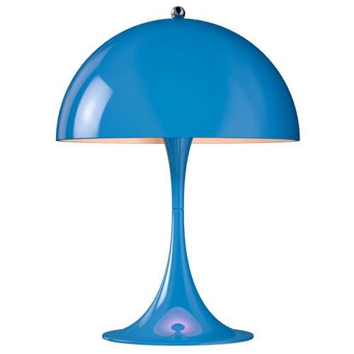Panthella Mini Table Lamp, Blue