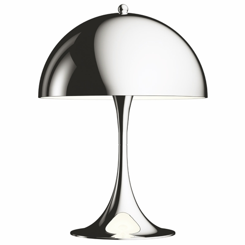 Panthella Mini Table Lamp, Chrome