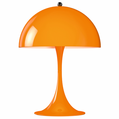 Panthella Mini Table Lamp, Orange