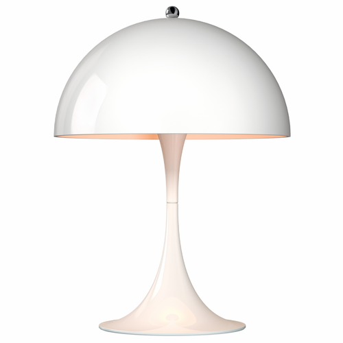 Panthella Mini Table Lamp, White