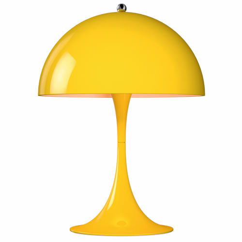 Panthella Mini Table Lamp, Yellow