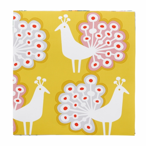 Peacock Paper Napkins, 3 Packs of 20