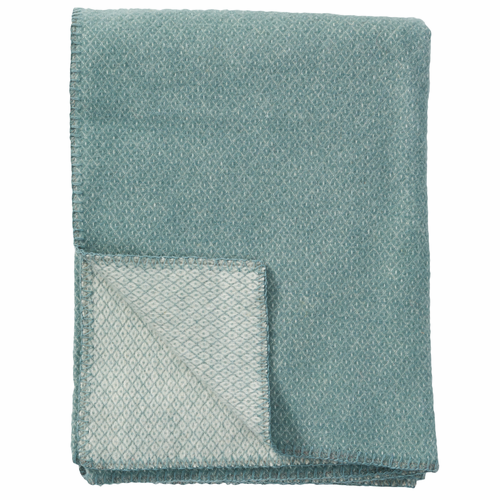 Peak Brushed Merino & Lambs Wool Throw, Cactus