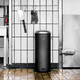 Pedal Bin (8 Gallon), Black - SOLD OUT