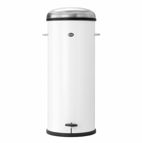 Vipp Pedal Bin (8 Gallon), White - SOLD OUT