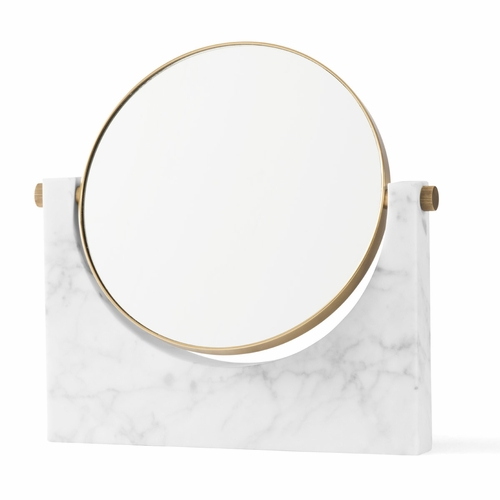 Menu Pepe Marble Mirror, White