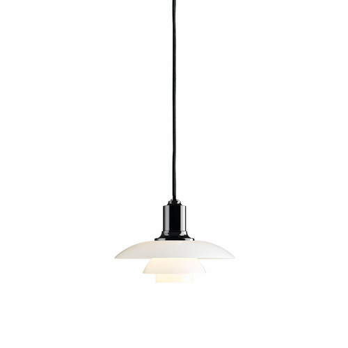 PH 2/1 Pendant, Black Metalized