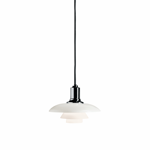 Louis Poulsen PH 2/1 Pendant Light, Chrome
