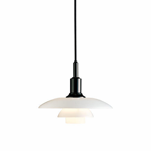 PH 3/2 Pendant, Black Metalized