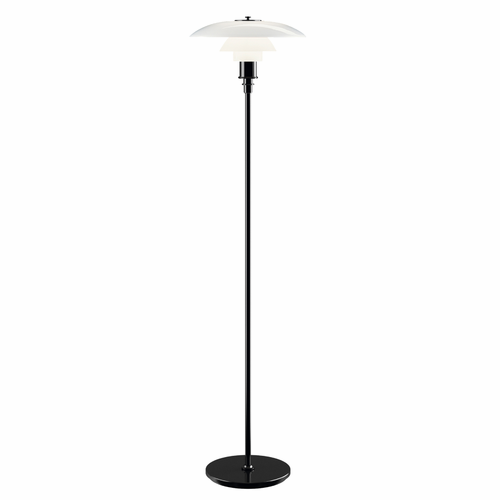 Louis Poulsen PH 3.5-2.5 Floor Lamp, Black Metalized