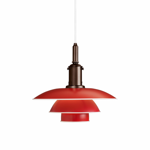 PH 3½-3 Pendant, Red