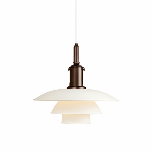 PH 3½-3 Pendant, White