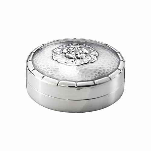 Pill Box 79D, Sterling Silver