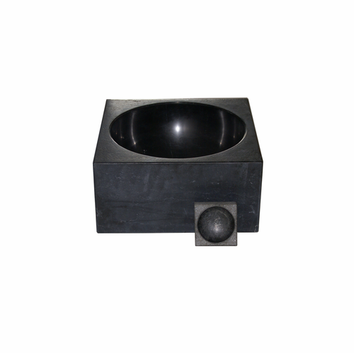 PK 600 Nero Marquina Marble Bowl (Limited Edition) by Poul Kjærholm