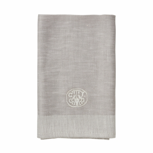 Plain Linen Napkin, Grey - Set of 6 (Only 12 Left)