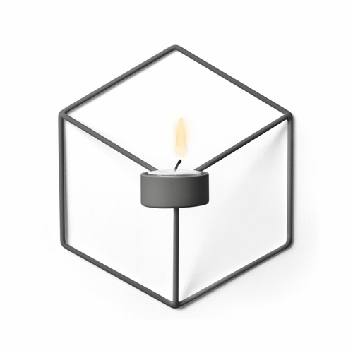 POV Candleholder Wall, Warm Grey