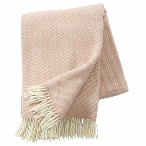 Pulse Brushed Merino & Lambs Wool Throw, Nude
