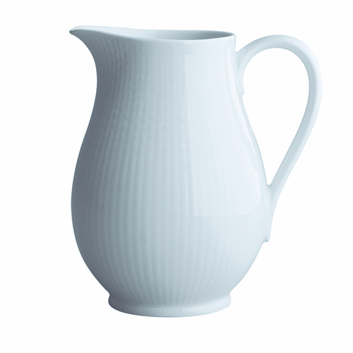 Rörstrand Swedish Grace Pitcher 1.3QT. Snow