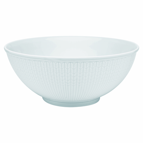 Rörstrand Swedish Grace Serving Bowl 1.8QT. Snow