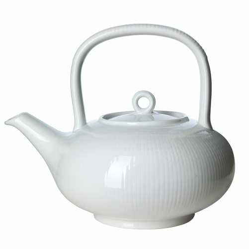 Iittala Rorstrand Swedish Grace Tea Pot 1.5QT. Snow