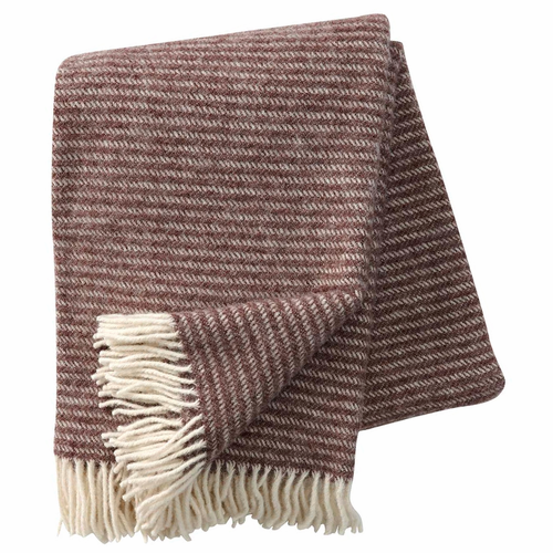 Ralph Brushed ECO Lambs Wool Throw, Barque