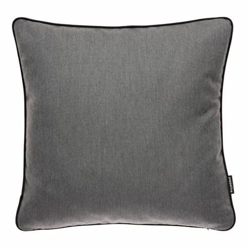 "Ray Dark Grey Outdoor Cushion, 17"" x 17"""