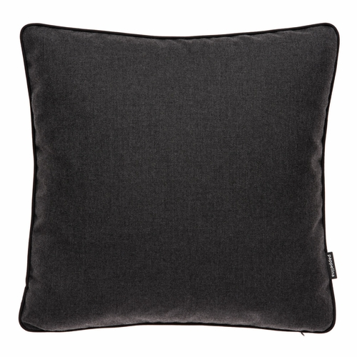"Ray Sooty Outdoor Cushion, 17"" x 17"""