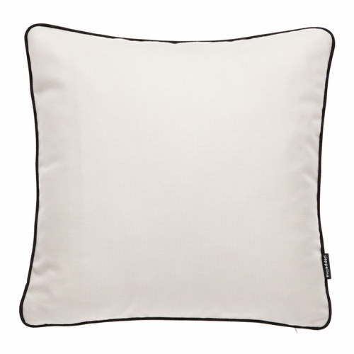 "Pappelina Ray Vanilla Outdoor Cushion - 17"" x 17"""