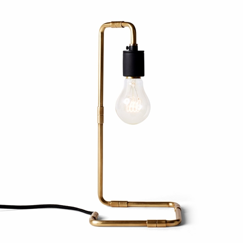 Reade Table Lamp, Brass